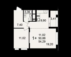 район Песочня, микрорайон-7, дом 4, кв. 3