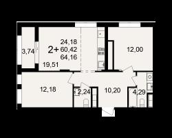 район Песочня, микрорайон-7, дом 4, кв. 9