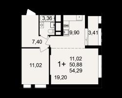 район Песочня, микрорайон-7, дом 4, кв. 124