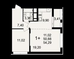 район Песочня, микрорайон-7, дом 4, кв. 150