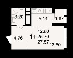 район Песочня, микрорайон-7, дом 4, кв. 199