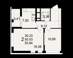 район Песочня, микрорайон-7, дом 4, кв. 204