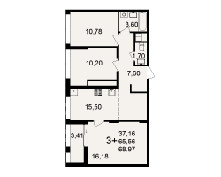 район Песочня, микрорайон-7, дом 4, кв. 207