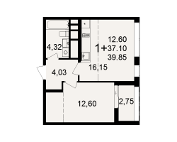 район Песочня, микрорайон-7, дом 4, кв. 210