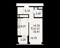 район Песочня, микрорайон-7, дом 4, кв. 216