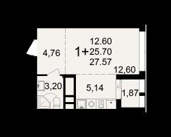 район Песочня, микрорайон-7, дом 4, кв. 224
