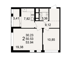 район Песочня, микрорайон-7, дом 4, кв. 230