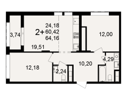 район Песочня, микрорайон-7, дом 4, кв. 247