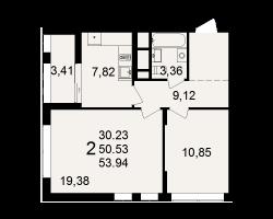 район Песочня, микрорайон-7, дом 4, кв. 282