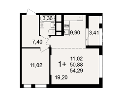 район Песочня, микрорайон-7, дом 4, кв. 72